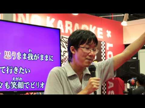 Jona Akira - Karaoke of Get Along (Slayers) - AFA 2014