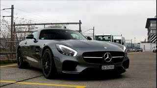 Mercedes AMG GTS Revving and Acceleration sound