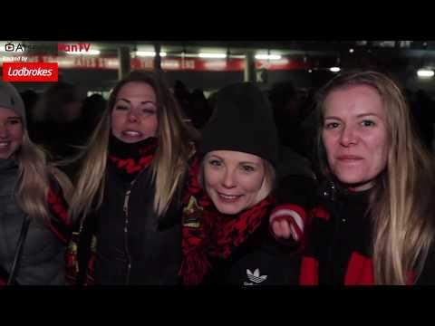 Arsenal 1-2 Östersunds  | We Should Have Scored More Goals!! (Away Fans)