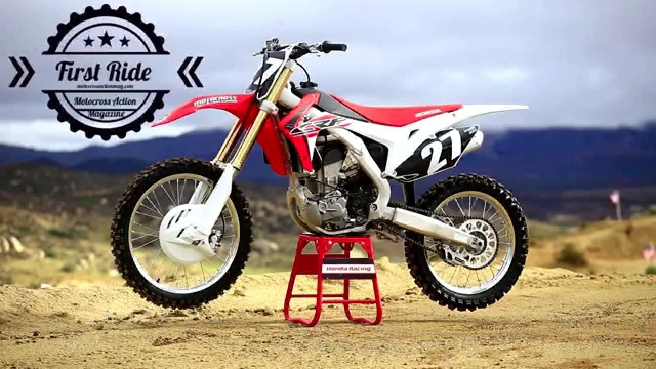 First Ride 2016 Honda Crf250 Motocross Action Magazine