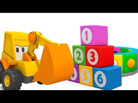 Мультик про Экскаватор Масю: Веселая карусель - Учим Фрукты, развивающий мультик для малышей