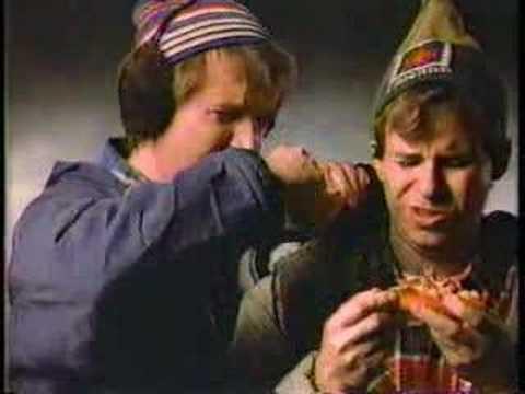 Bob and Doug McKenzie Pizza Hut Commercial 1985