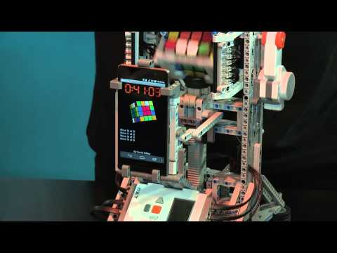 The ARM-powered MultiCuber 3 robot set a World Record at 1 minute 18.68 seconds for solving a 4x4x4 Rubik's Cube, based on a Huawei Ascend P6 smartphone with a Hisilicon K3V2E processor.