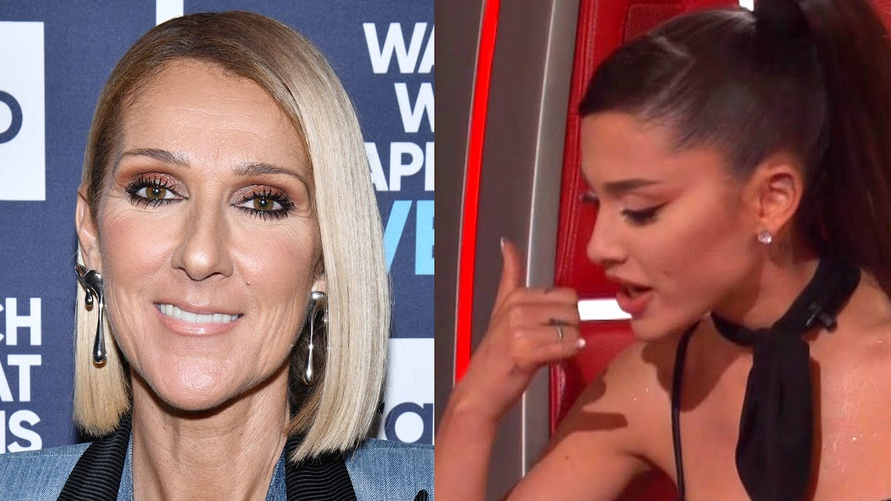 Ariana Grande Does FLAWLESS Celine Dion Impression on The Voice