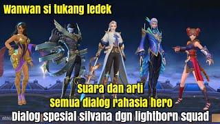 Suara dan arti secret dialogue semua hero mobile legends~apa yg dia katakan?