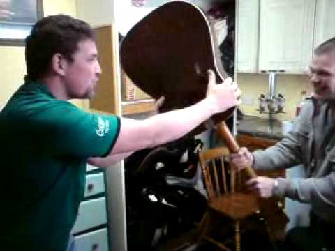 robbie gets guitar smashed over his head