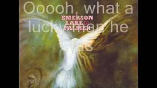 Emerson Lake & Palmer Emerson Lake Palmer - Lucky Man With Lyric