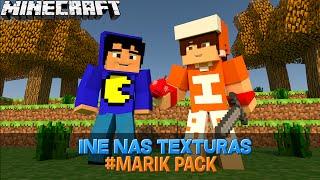 Ine nas texturas - MARIK Pack (TazerCraft) - Youtubers Textures #11 ‹#Mafoo›