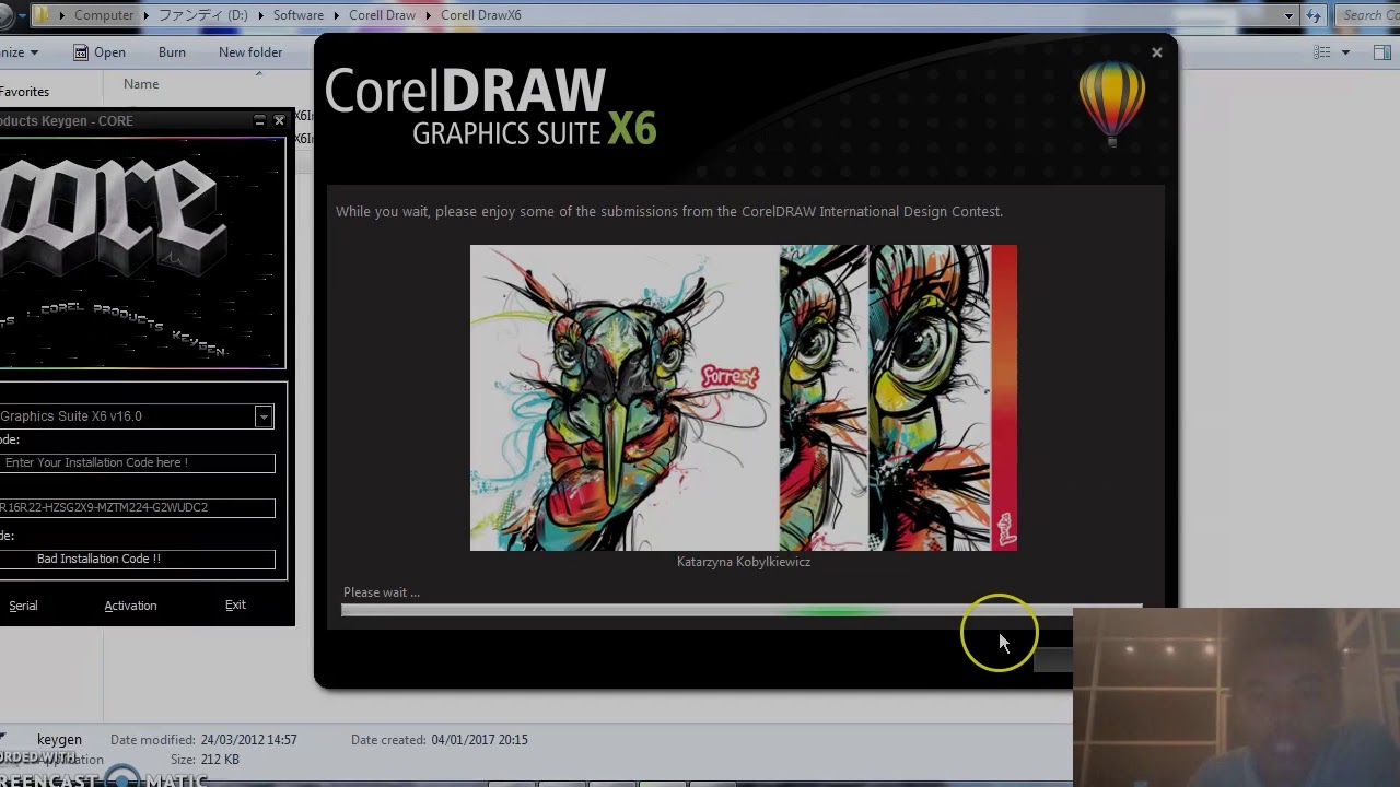 corel draw x6 com keygen