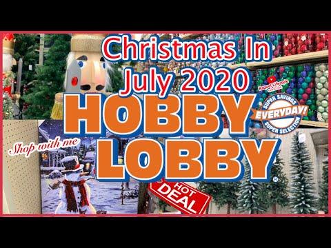 Hobby Lobby Christmas In July 2020 Hobby Lobby Christmas In July 2020 | hobby Lobby sneak peek