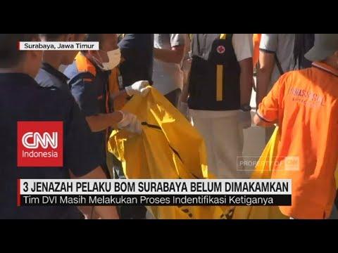3 Jenazah Pelaku Bom Surabaya Belum Dimakamkan