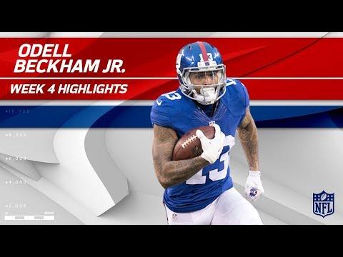 Odell Beckham Jr. Highlights   Giants vs. Buccaneers   Wk 4 Player Highlights