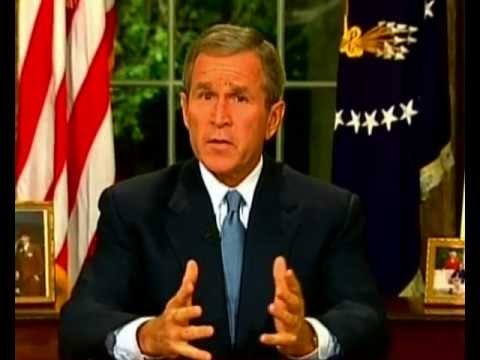 Image result for the aftermath of 911 with president bush