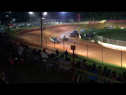 """Carl """"MailMan"""" Maree #2 Renegade Car-September 2, 2017-East Lincoln Speedway-Main Race VICTORY LANE!"""