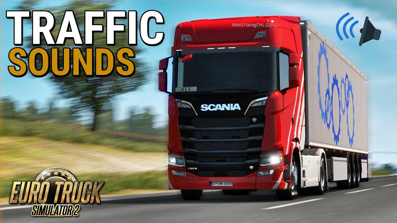 TruckersMP UPDATE: Game Traffic Sounds | Euro Truck Simulator 2 | Toast