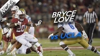 Bryce Love Highlights vs UCLA // 30 Carries for 263 Yards, 1 TD // 9.23.17