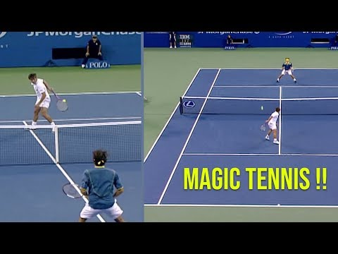 The Magician Who Stole The Show From Roger Federer | Tennis Circus