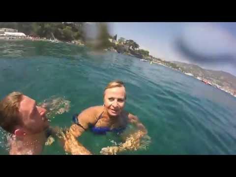 [GoPro Hero] Family snorkeling in Saint-Jean-Cap-Ferrat, France