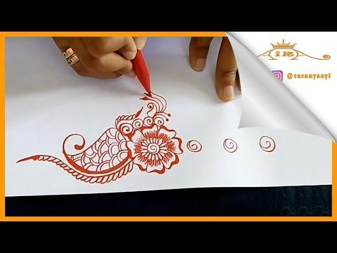 Belajar Melukis Henna Untuk Pemula Youtube