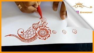 Belajar Melukis Henna untuk Pemula