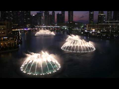 Dubai Fountains: Enrique Iglesias - Hero (4K Video)