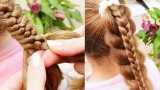 ✨Braid Hairstyles for Little Girls | Best Makeup Tutorials 2018 | Woah Beauty