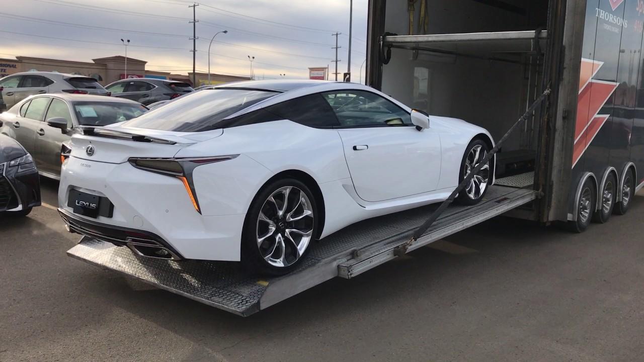 2018 Lexus Lc 500 Youtube