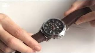 Fossil Men's Grant Chronograph Watch FS4813 Review | Unboxing