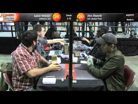 Grand Prix Pittsburgh 2015 Finals: Aaron Webster vs. Alex Bianchi (Modern)