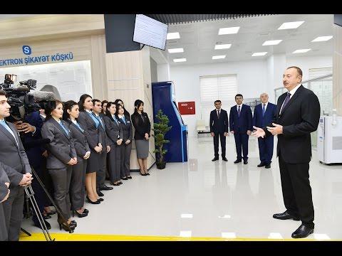 """İlham Əliyevin 1 Saylı """"ASAN Kommunal"""" Mərkəzinin Açılışında Nitqi"""