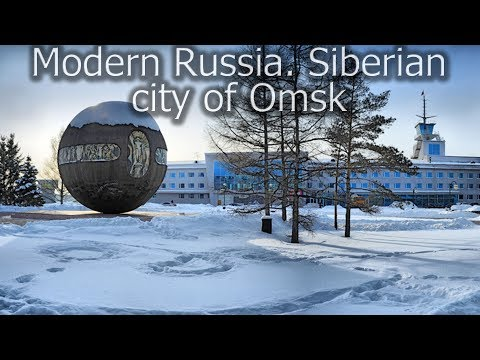 Modern Russia. Interesting things in Siberian city of Omsk