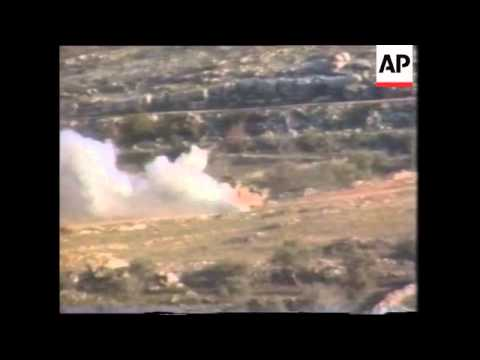 Middle East- Hezbollah Fire Rocket At Israeli Post