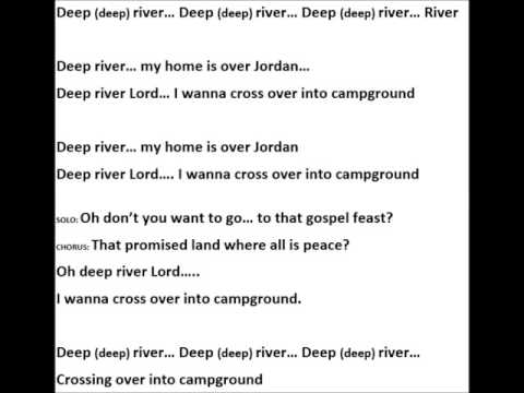 Deep River Lyric Video