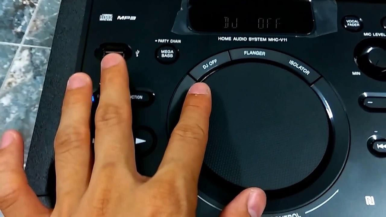 Giới Thiệu Loa Karaoke Sony MHC   V11