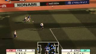 Jikkyou World Soccer 2001 Gameplay {PS2} {HD 1080p}