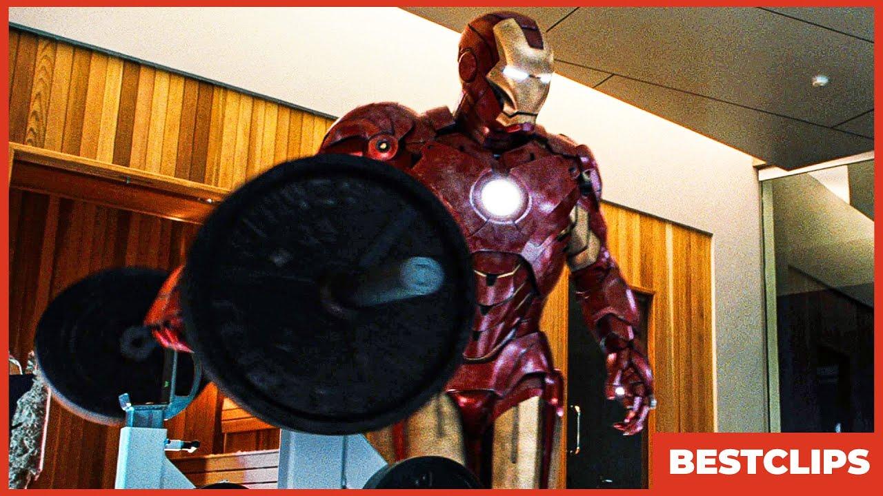 Iron Man Vs War Machine - Fight Scene | Iron Man 2 (2010) Movie CLIP 4K