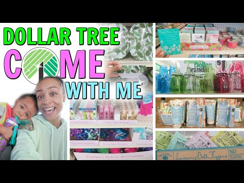COME WITH ME TO DOLLAR TREE! MOTHER'S DAY GIFT IDEAS AND MORE!