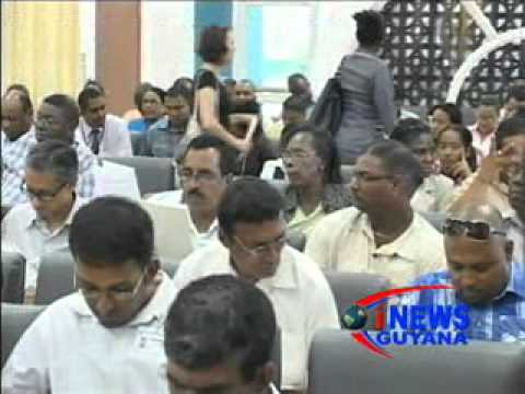The ministry of housing and GNBS launches building codes for Guyana. March 05, 2012