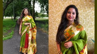 Indian Festive Bengali Look || Simple Makeup Look || Get Ready With Me