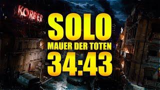 34:43 Solo Mauer Der Toten Easter Egg Speedrun (Cold War Zombies)
