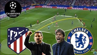 SIMEONE VS CONTE  | Two Legendary Managers | Atletico Madrid-Chelsea Tactical Analysis