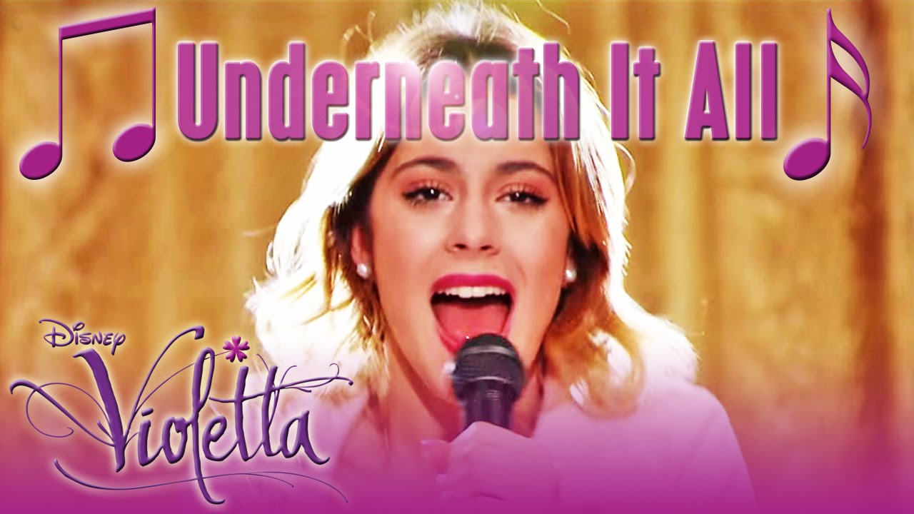 Violetta mit underneath it all hits aus staffel 3 - Violetta disney channel ...