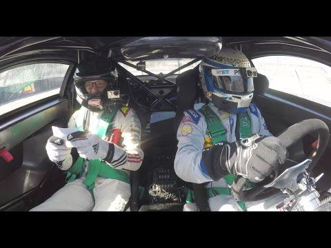 Ryan Tuerck answers trivia while riding with Scott Pruett | Donut Media