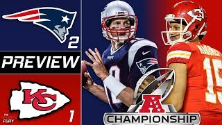 Patriots vs Chiefs AFC Championship Preview