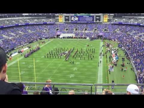 Baltimore Ravens marching band 10-02-16!!!!