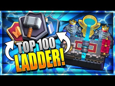LEADERBOARD PUSH w/ MY BEST LADDER DECK!! Clash Royale End of Season Push - Part 1