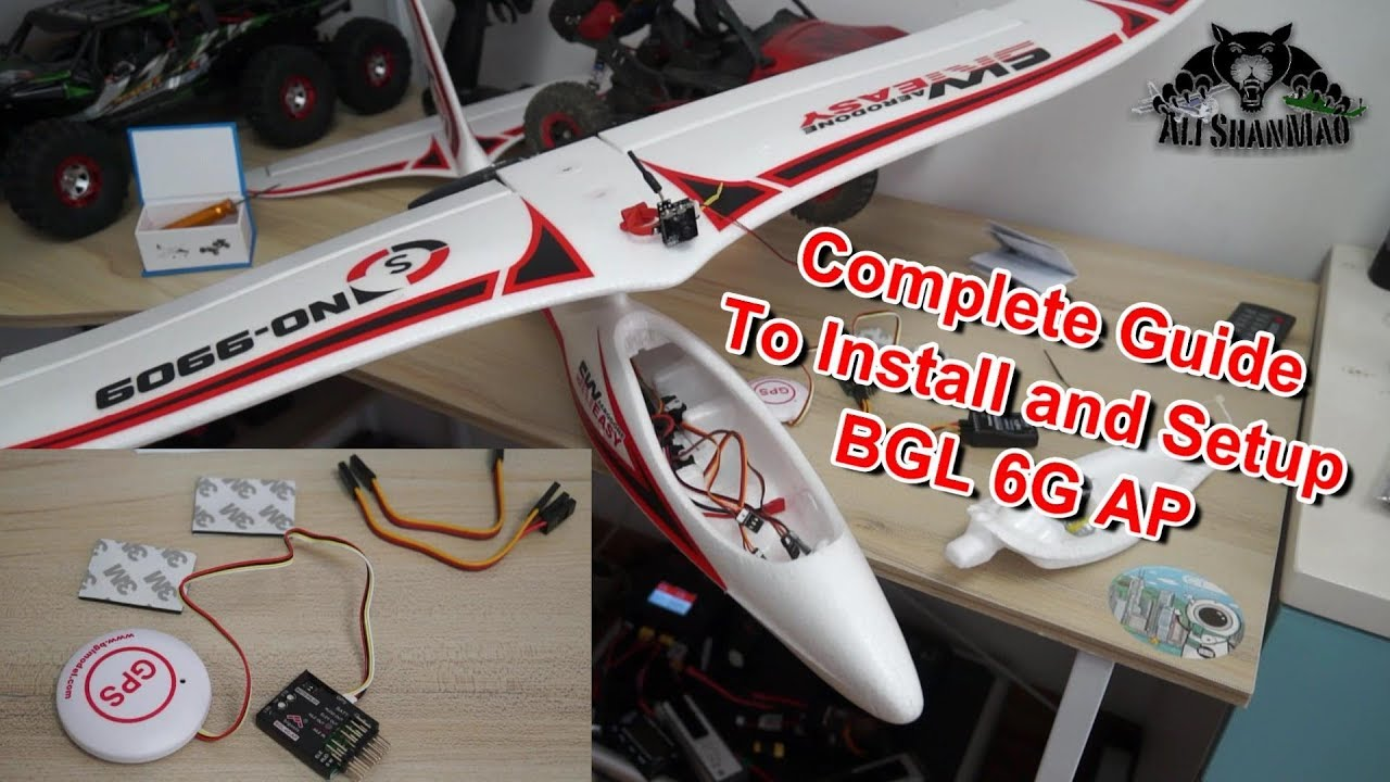 How to install and setup BGL 6G AutoPilot for RC FPV Planes Complete Guide  🔧