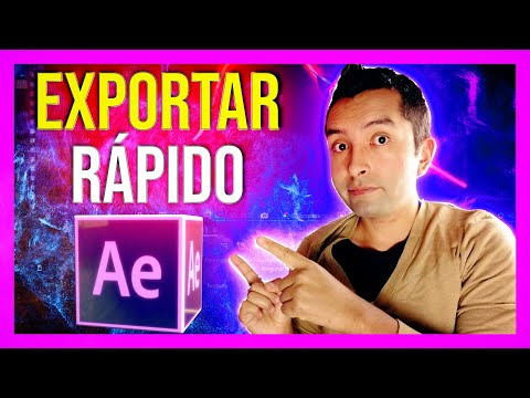 COMO Exportar After Effects a MP4 FACILMENTE🎞️👾 ( RENDER After Effects 2021 )