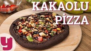 Kakaolu Pizza Tarifi (Yok Daha Neler!)   Yemek.com