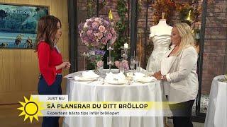 Så planerar du ditt bröllop: Här är expertens bästa tips - Nyhetsmorgon (TV4)